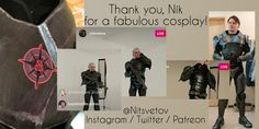 Decompress from the Chaos Cosplay? How? @nitsvetov #PietasFans #Cosplay #SpaceOpera