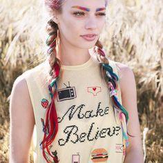 Sobrancelhas arco-íris são a nova tendência de beleza
