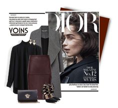 """""""YOINS.com"""" by monmondefou ❤ liked on Polyvore featuring Miss Selfridge, Versace and yoins"""