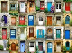 Doors connect spaces and regulate the flow of energies in a building. These 5 feng shui tips will change how you think about the doors in your home forever. You are in the right place about feng shui Residential Windows, Gazebos, Urbane Kunst, Cool Doors, French Property, How To Antique Wood, Antique Doors, Doorway, Windows And Doors
