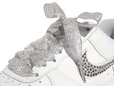 Sparkling Silver Flat Ribbon Shoelaces, Shoe Laces For Ki... https://smile.amazon.com/dp/B00U7OQIDM/ref=cm_sw_r_pi_dp_x_W-xyzbHRCB0BQ
