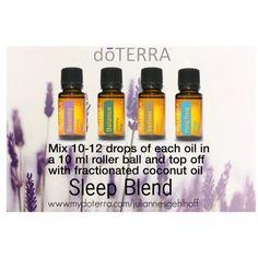 doTERRA sleep blend #doterra #sleepblend www.mydoterra.com/juliannesgehlhoff