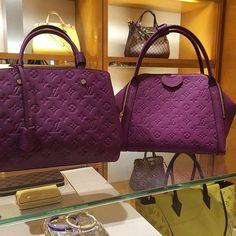 Purple Louis Vuitton