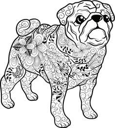 die 13 besten bilder zu gratis ausmalbilder hunde | ausmalbilder hunde, ausmalen, ausmalbilder