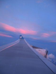 Air Tahiti Nui Sunrise pink winglet