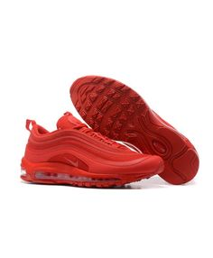 When it first debuted 20 years ago, the Air Max 97 rocketed to the height of sneaker fame. The futuristic design lines and visible full-length airbag cushioning units continue to define the Air Max 97 as a truly unique sneaker. Nike Air Max Sale, Nike Air Max Tn, Cheap Nike Air Max, Air Max 97, Mens Nike Air, Nike Men, Cyber Monday, Red Shoes, Men's Shoes