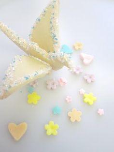 13. origami peace crane sugar cookies