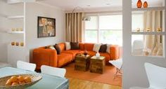 182 Best Orange Sofa Images Future House Apartment Ideas