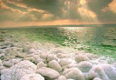 Atardecer sobre el Mar Muerto - Jordania