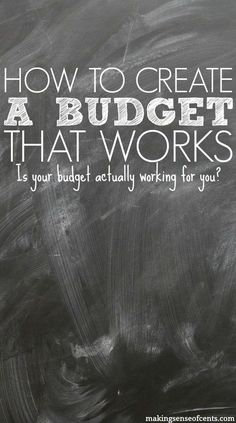 68% of households in the U.S. do not prepare a budget. Here are my tips on how to make a budget, so that you can start creating a budget that works.