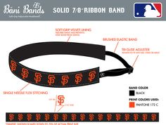 Show your team spirit and order a custom band!