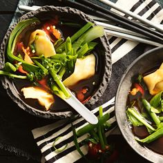 Chinese Dumpling Short Soup