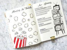 bullet journal tv shows Bullet Journal Tv Series, Bullet Journal Netflix, Bullet Journal Writing, Bullet Journal Inspo, Bullet Journal Ideas Pages, Bullet Journal Layout, Journal Pages, Journals, Tv Series Tracker