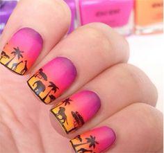 5 diseños de uñas diferentes para usar todo el verano | Decoración de Uñas - Manicura y Nail Art
