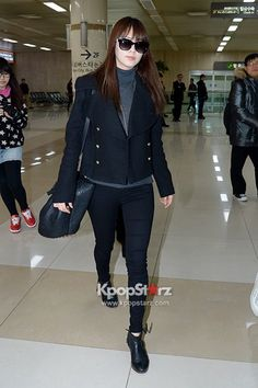 Girls Generation Airport Fashion March 6 2013