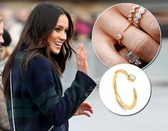 MARKLE MARKLE, and Kate Middleton, have inspired many with their contrasting styles. Kate often wears the Queen's jewellery, why doesn't Meghan? Missoma Jewellery, Gems Jewelry, Jewelry Art, Fashion Rings, Fashion Jewelry, Women's Fashion, Meghan Markle Ring, Kate Middleton Jewelry, Royals