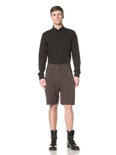60% OFF Silent by Damir Doma Men\'s Pleated Shorts (Aubergine)