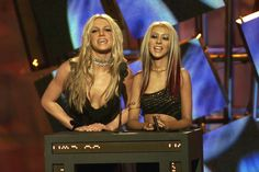 """The time she graciously shared the stage with Xtina."""" 