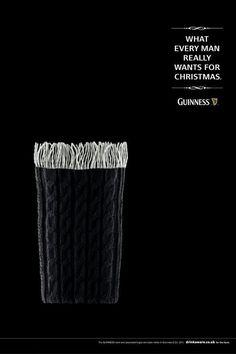 Guinness winter ad