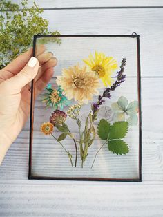 Decor dried flower bouquet frame glass for home decor. A gift to mom, sister, girlfriend in, My products, inspired by nature Decor dried flower bouquet frame glass for home decor. Dried Flower Bouquet, Beautiful Bouquet Of Flowers, Romantic Flowers, Simple Flowers, Flower Bouquets, Flower Petals, Dried And Pressed Flowers, Pressed Flower Art, Dried Flowers