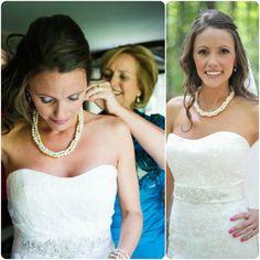 Bridal Pearl Jewelry   Pearl Wedding Jewelry by Amanda Badgley Designs   A Bridal Jewelry Boutique {Bride + Bridesmaid Jewelry}