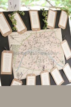 Map Of Paris Table Plan - Dasha Caffrey Photography | Bridal Musings See more from this wedding: bridalmusings.com... #weddings #wedding #marriage #weddingdress #weddinggown #ballgowns #ladies #woman #women #beautifuldress #newlyweds #proposal #shopping #engagement