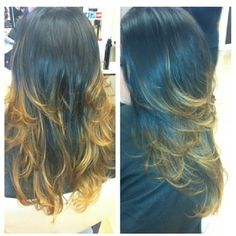 Ombre by Kristina at Aurelio Salon in Howell, NJ