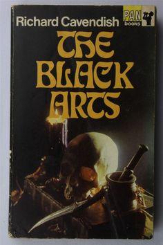 The Black Arts Richard Cavendish 1969 Vintage UK PB Book Occult Cabala Magic ... (2016/05/05)