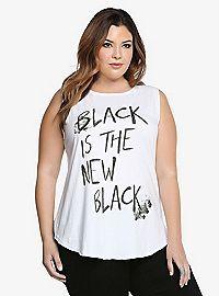 TORRID.COM - Black Is The New Black Tank Top
