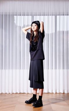 Park Shin Ae for YFS Spring 2015 Lookbook