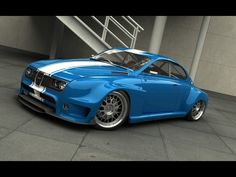2010 Saab Custom 1968 by Vizualtech - Blue - 1600x1200 - Wallpaper