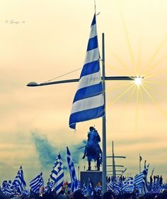 Macedonia is Greece Cyprus Greece, Macedonia Greece, Greek Independence, Greek Memes, Greek Flag, Greece Photography, Visit Turkey, Greek Warrior, Greek Beauty