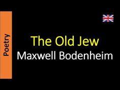 The Old Jew - Maxwell Bodenheim