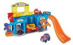 VTech Go! Go! Smart Wheels Auto Repair Center Playset >>> Want to know more, click on the image.