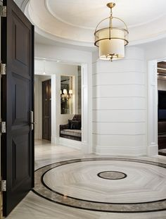 A modern entryway décor is a perfect opportunity to surprise your guests. You can create a sleek design with statement pieces or you prefer a more intimate and Luxury Home Decor, Luxury Interior, Luxury Furniture, Luxury Homes, Antique Furniture, Outdoor Furniture, Furniture Logo, Wooden Furniture, Contemporary Interior