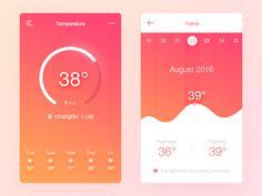 Daily Ui 10temperature by Tingting