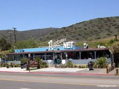Neptune's Net Seafood serving fresh seafood in Malibu Beach since Fish n chips cold beer, biker hangout Fast and Furious movie location The Places Youll Go, Great Places, Places Ive Been, Places To Go, Places In California, California Dreamin', Malibu Restaurants, Furious Movie, Malibu Beaches