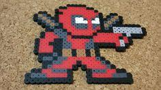 Deadpool Bead Sprite Marvel v. Capcom 3 8 by DCBPerlerSprites