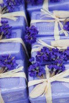 Provence, France. Lavender soap in Provence France