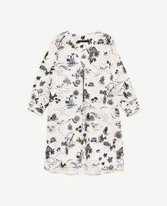 Image 8 of PRINTED DRESS WITH ZIP from Zara