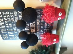 Mickey Mouse Clubhouse displays.