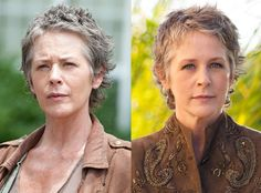 Melissa McBride (Carol Peletier) from The Walking Dead Stars In and Out of Costume | E! Online