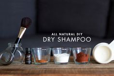 You won't believe how easy it is to DIY your own dry shampoo.