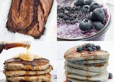 If you like sweet breakfasts, you will love these vegan pancakes, banana bread, granola, and chia pudding recipes! 10+ Sweet Vegan Breakfast recipes!