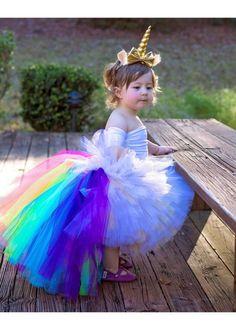 Tutu de alta baja unicornio unicornio Tutu Tutu de Rainbow