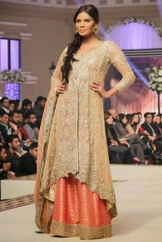 Bridal Wear created by Faraz Manan from 2015 Collection 3