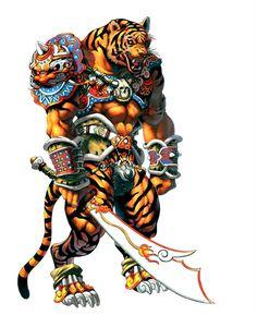 Tiger Warrior Photo by Visk_picts | Photobucket