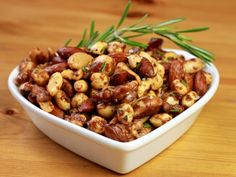 next up on the list of things: #chilli almonds