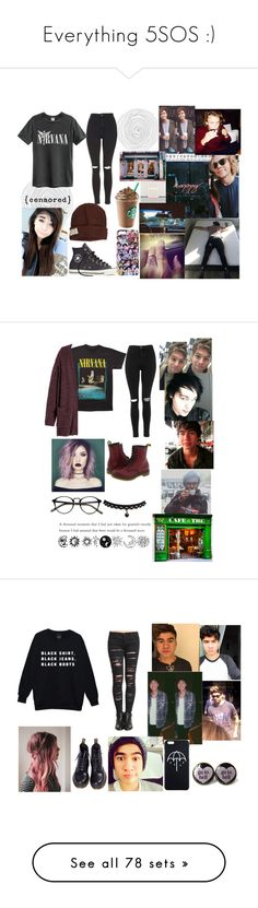 """Everything 5SOS :)"" by that-1-awkward-friend1234 ❤ liked on Polyvore featuring Topshop, Converse, Krochet Kids, H&M, Dr. Martens, BLANKNYC, Vans, Paul Frank, Impossible and Spree Picky"