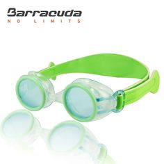 908e9f8966 Barracuda Junior Swim Goggle WIZARD - Wide NEOPRENE Strap with Velcro  Closure
